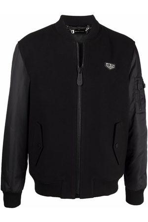 Philipp Plein Crystal Skull bomber jacket