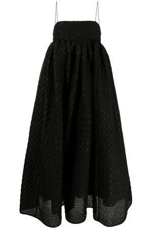 Cecilie Bahnsen Women Bootcut - Beth flared spaghetti-strap dress