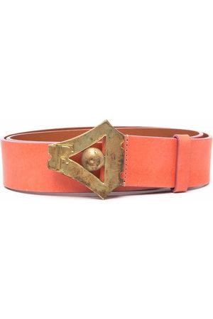 Gianfranco Ferré Women Belts - 2000s leather buckle belt