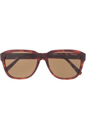 Brioni Square-frame sunglasses