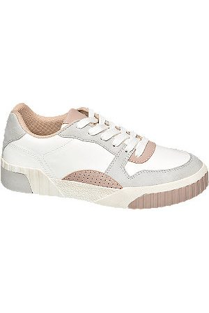 Graceland Women Trainers - Ladies Colour Block Cleated Sole Trainers