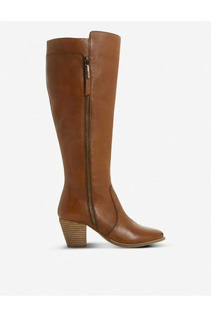 Dune Tiana knee-high leather boots