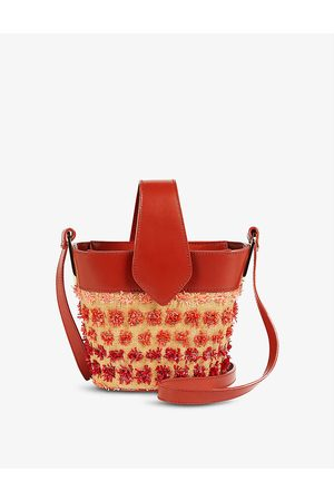 Ted Baker Genesey woven bucket bag
