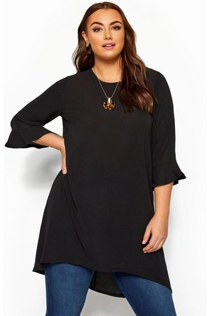 Yours London Fluted Sleeve Tunic