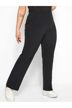 """Yours Bootcut 32"""" Ponte Rib Trouser."""
