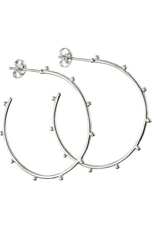The Love Silver Collection Sterling Silver Statement Hoop Earrings