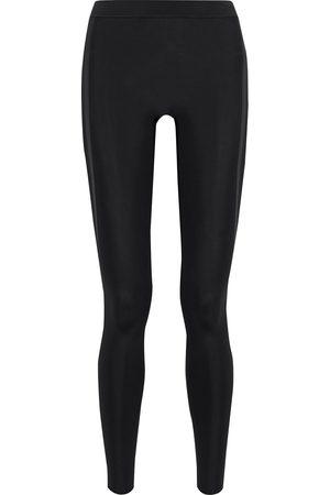 REEBOK X VICTORIA BECKHAM Woman Mesh-paneled Stretch Leggings Size S
