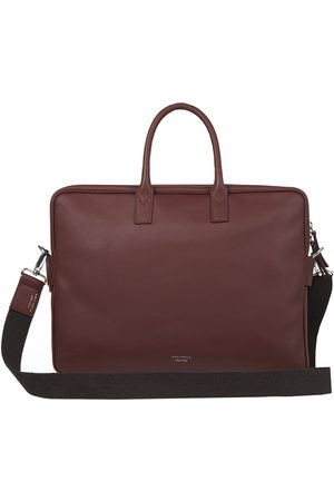 Meli Melo Men Laptop & Business Bags - Briefcase in Brown Leather for Men