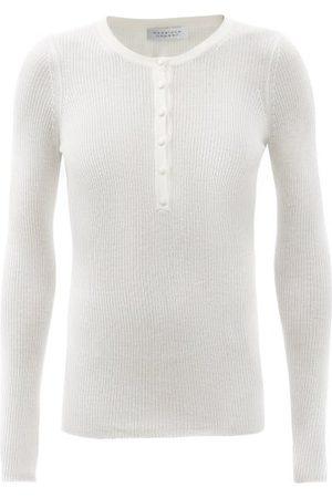 GABRIELA HEARST Julian Ribbed Cashmere-blend Sweater - Womens - Ivory