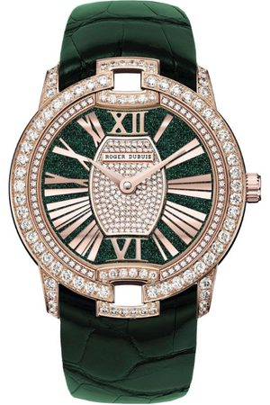 Roger Dubuis Women Watches - Rose Gold and Diamond Velvet Watch 36mm