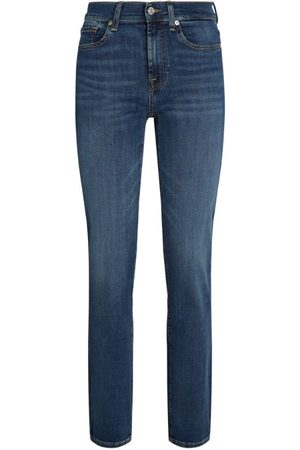 7 for all Mankind Women Straight - The Straight B(Air) Jeans