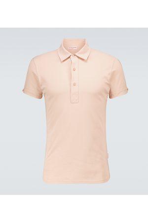 Orlebar Brown Men Polo Shirts - Sebastian cotton polo shirt