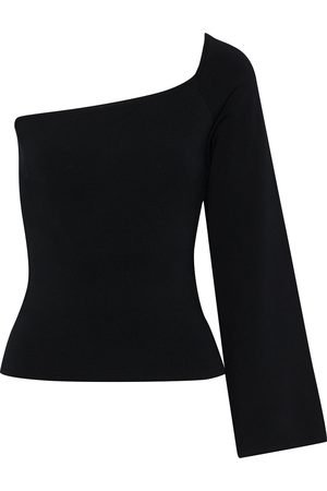 Solace Woman The Renata One-shoulder Stretch-knit Top Size 10