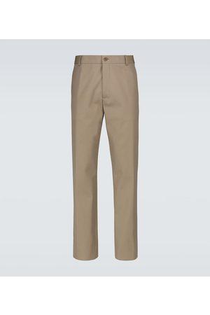 Loro Piana Men Trousers - Cotton and wool chino pants