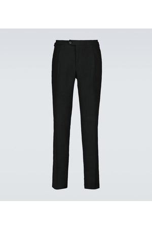 Thom Sweeney Pleated linen pants