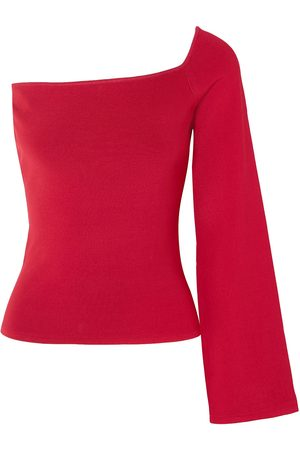 Solace Woman The Renata One-shoulder Stretch-knit Top Size 12