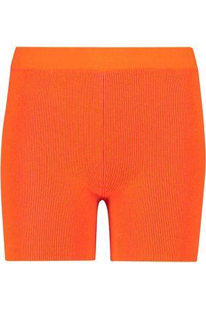 Jacquemus Exclusive to Mytheresa – Le Short Arancia biker shorts