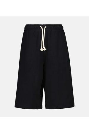 Acne Studios Cotton jersey shorts