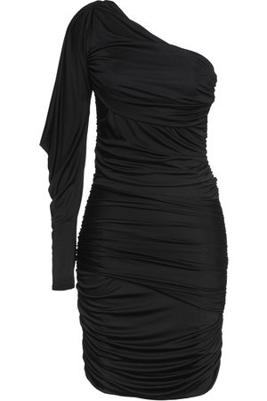 Redemption Woman One-shoulder Ruched Stretch-jersey Mini Dress Size 42