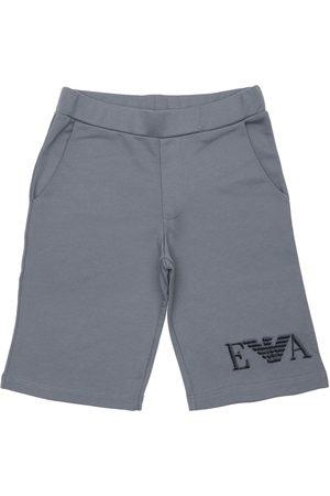 Emporio Armani Stretch Cotton Shorts