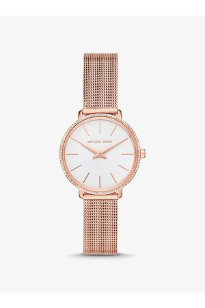 Michael Kors Watches - MK Mini Pyper Pavé Rose -Tone Watch - Rose