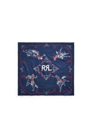 RRL Men Hats - Rodeo Cotton Bandanna