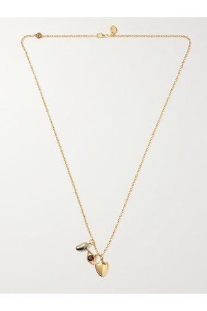 M. COHEN Men Necklaces - Charmit 18-Karat Multi-Stone Pendant Necklace