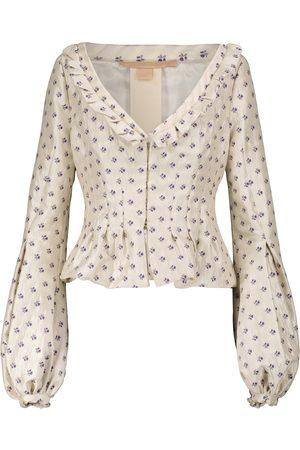 BROCK COLLECTION Women Summer Jackets - Floral-jacquard jacket