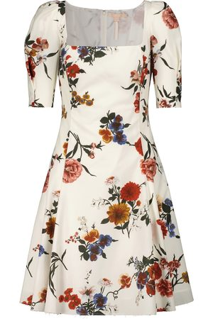 BROCK COLLECTION Floral cotton mid dress
