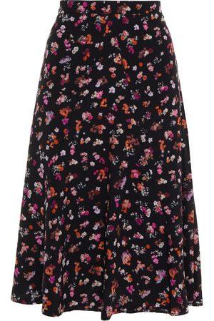 Altuzarra Women Printed Skirts - Woman Floral-print Silk-crepe Skirt Size 36