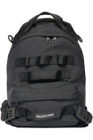 Balenciaga Army Multicarry Nylon Backpack