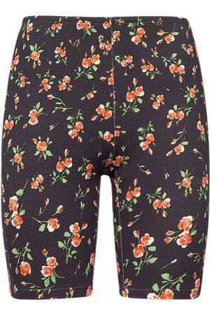 Paco rabanne Stretch Jersey Printed Logo Shorts