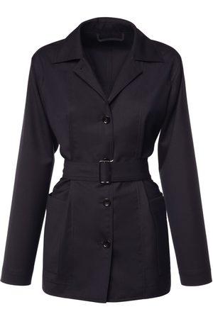 Max Mara Women Coats - Pireo Belted Pure Wool Jacket