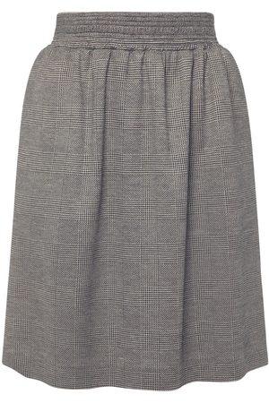 Max Mara Wool & Viscose Jersey Mini Skirt