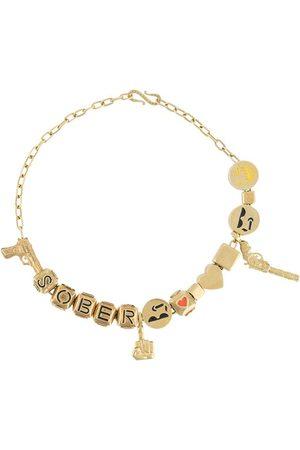Natasha Zinko Women Necklaces - Sober charm necklace