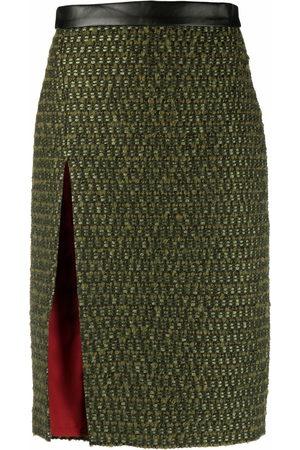 Dsquared2 Women Midi Skirts - Tweed midi skirt
