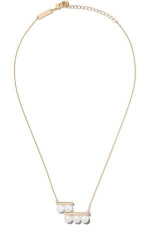 Tasaki Women Necklaces - 18kt yellow Balance step Akoya pearl pendant