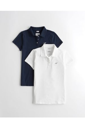Hollister Girls Polo Shirts - Must-Have Polo 2-Pack