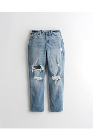 Hollister Women Boyfriend - Curvy High-Rise Mom Jeans