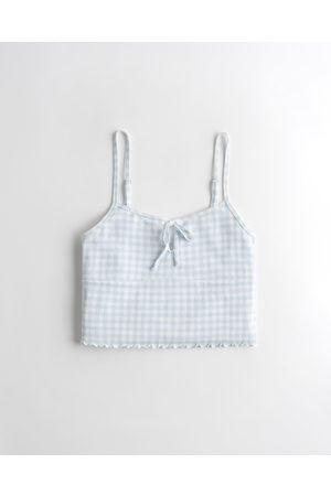 Hollister Gilly Hicks Dreamworthy Soft Tie-Front Tank