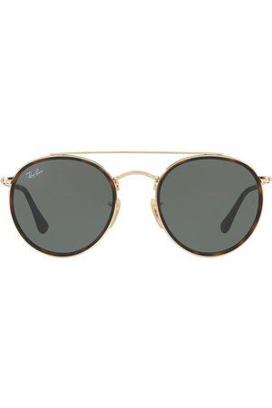 Ray-Ban Sunglasses - Round Double Bridge sunglasses - Metallic