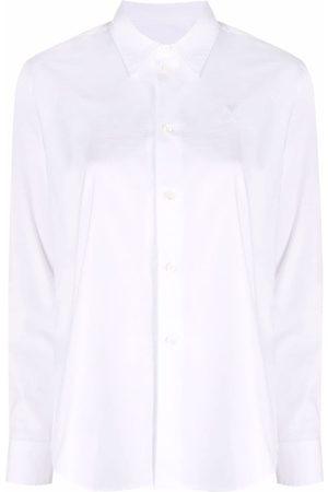 Ami Button-up long-sleeve shirt