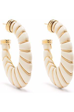 Gas Bijoux Women Earrings - Cyclade hoop earrings