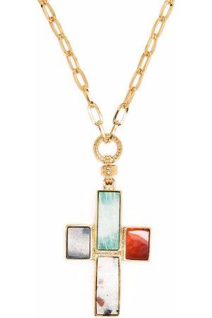 Gas Bijoux Women Necklaces - Cross pendant necklace