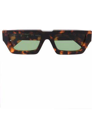 Off-White Manchester rectangular-frame sunglasses