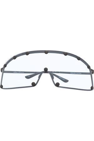 Rick Owens Sunglasses - Curved-edge sunglasses