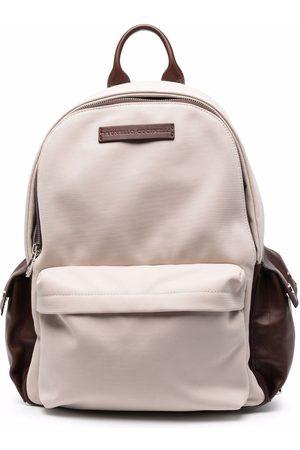 Brunello Cucinelli Men Purses & Wallets - Multi-pocket backpack - Neutrals