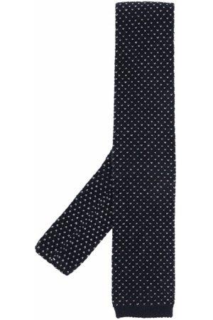 Brunello Cucinelli Men Bow Ties - Woven straight-edge tie