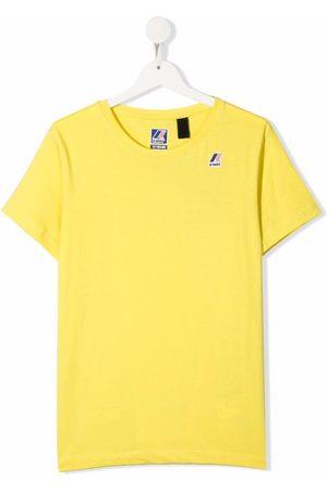 K-Way TEEN logo-print cotton T-Shirt