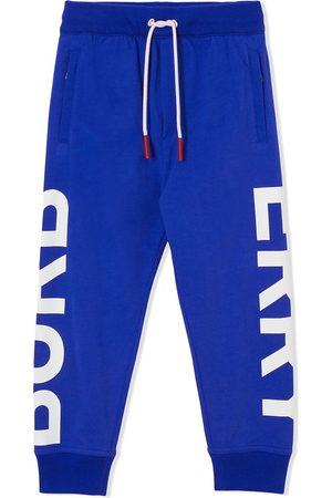 Burberry Boys Trousers - Logo-leg track trousers